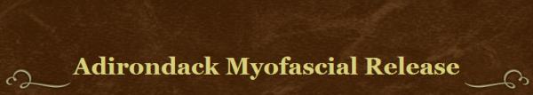 Adirondack Myofascial Release Logo