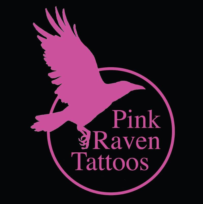 Pink Raven Logo