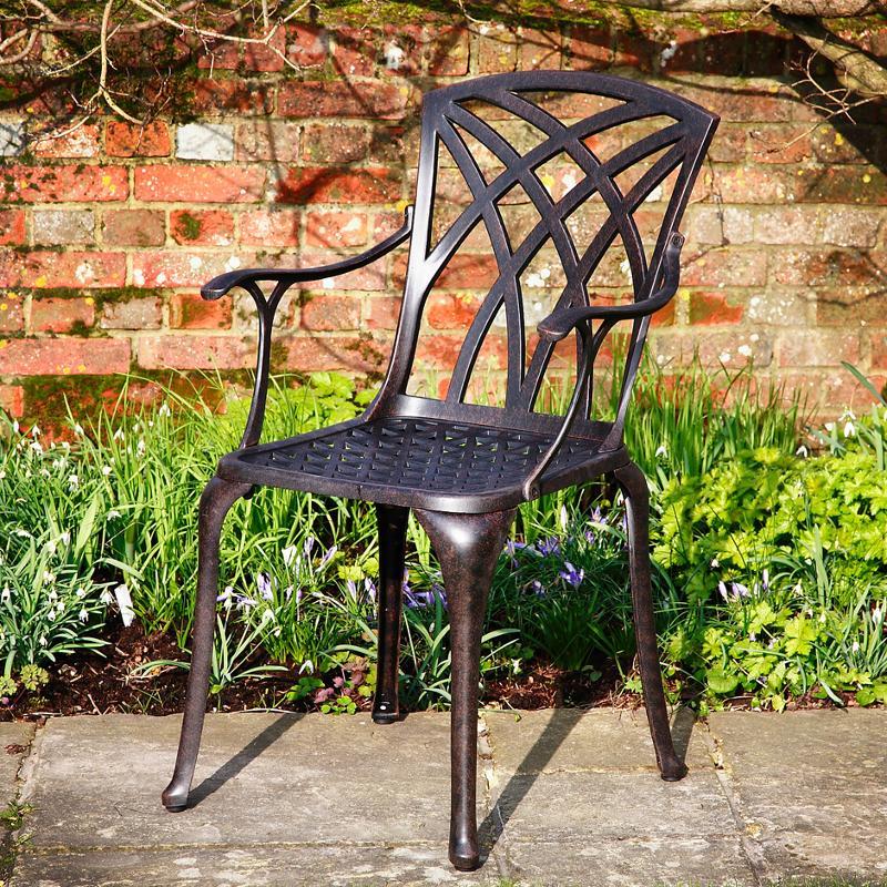 April Metal Garden Chair