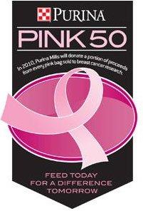 Pink 50 Logo