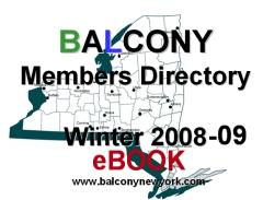 Members Directory 2008-9