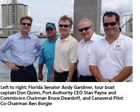 Senator Gardiner visit