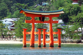 The Torii of Itsukushima