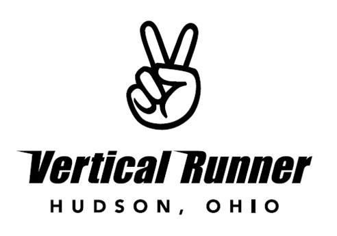 vertical runner logo