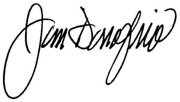 Jim Donofrio Signature
