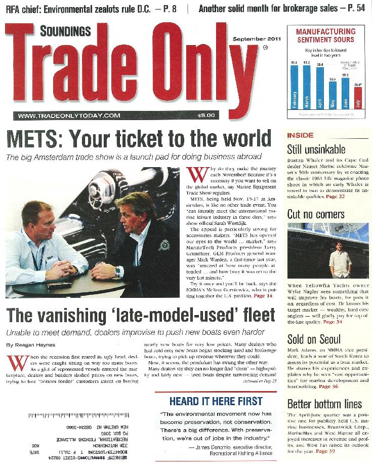 Soundings Trade Only Cover 9/11