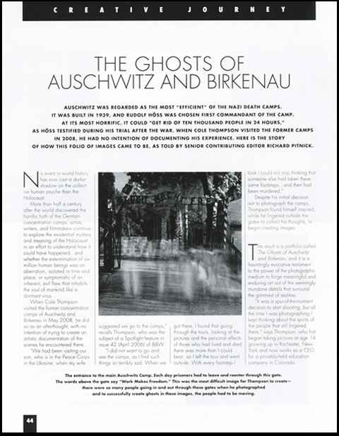 Ghosts of Auschwitz B&W Article