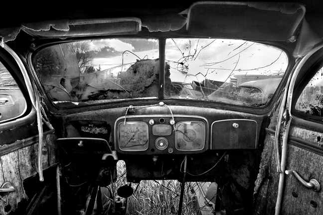 Old Car Interior