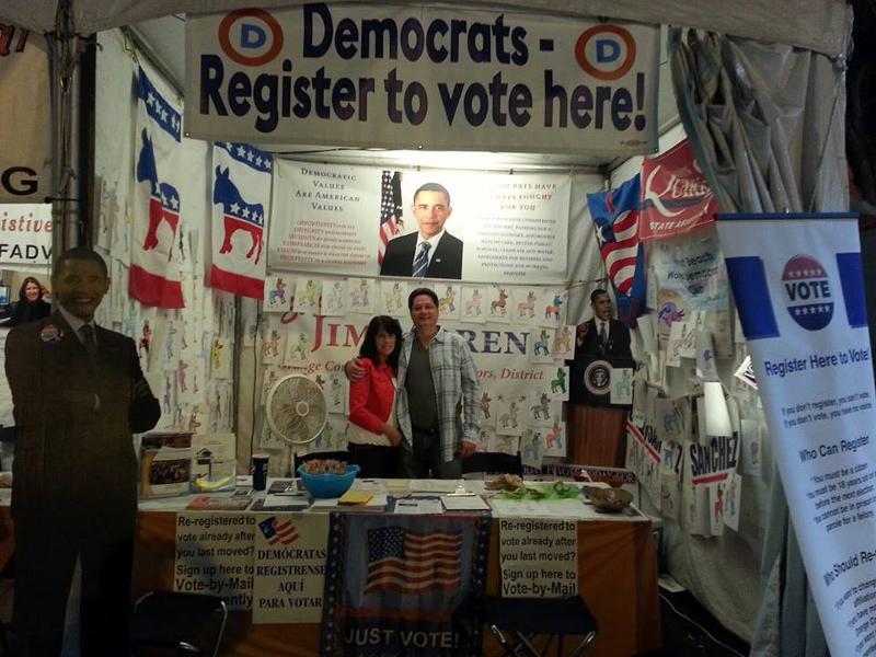 OC Fair booth
