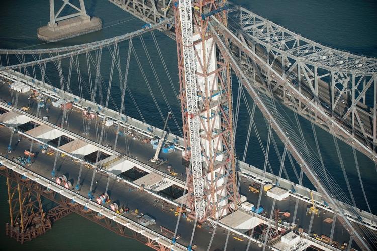 Bay Bridge Suspender Cables