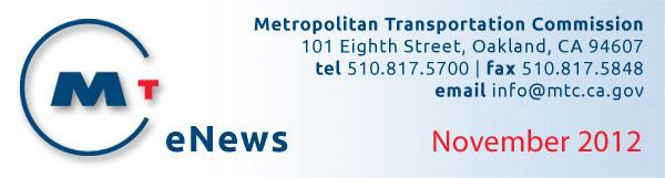 MTC eNews - November 2012