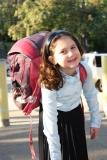 Yolkut Girl Arriving to School