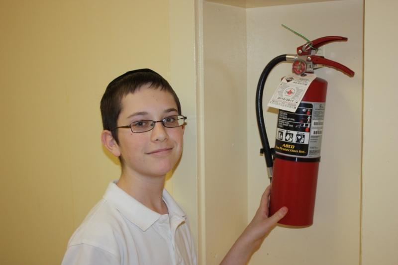 Jordy Kraut Fire Extinguisher