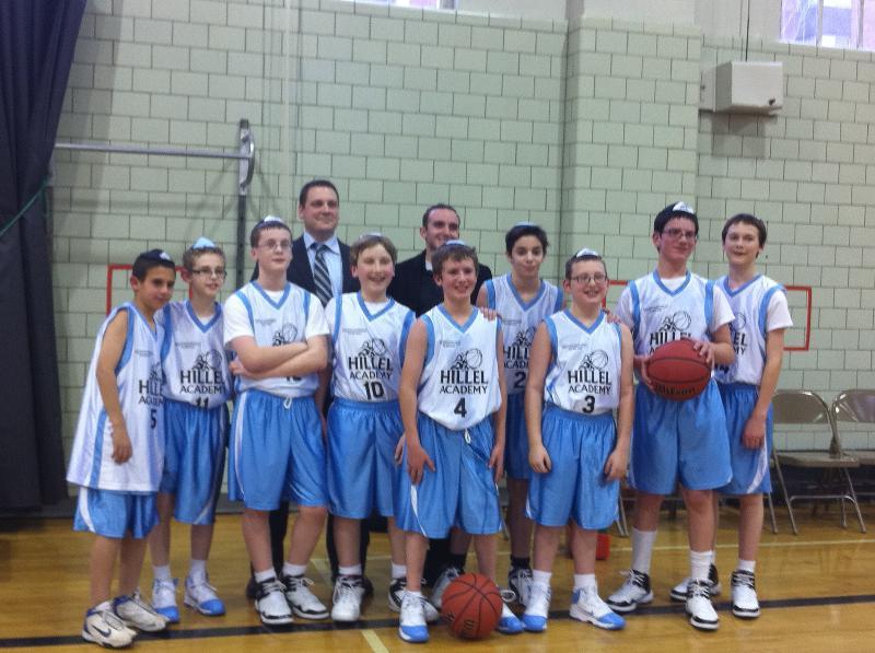 Middle School Boys Basketball Team
