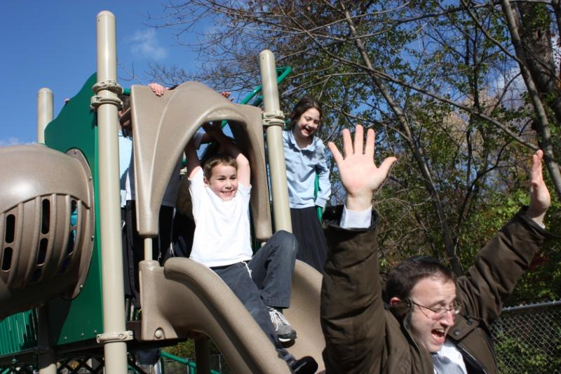 Rabbi Sacks on Playground