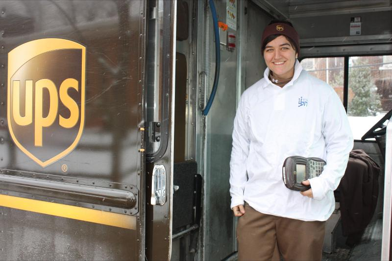 UPS Delivery Woman