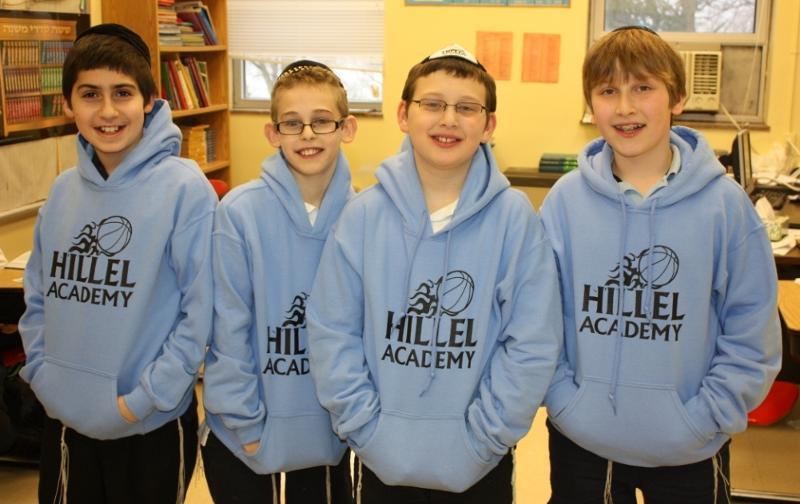 Middle School Basketball Sweatshirts
