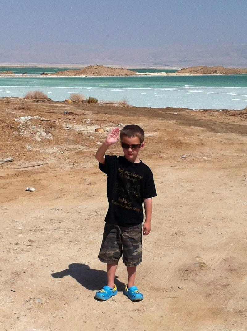 Eytan R at Dead Sea