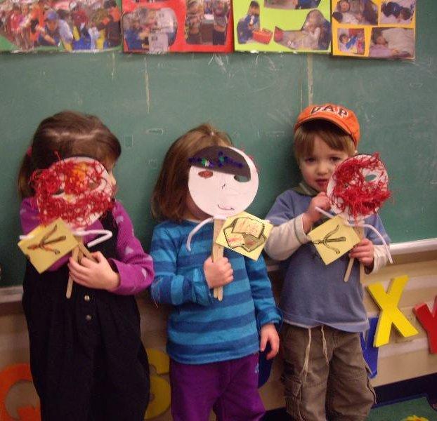 Puppets in Nursery