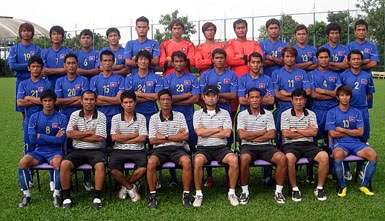Cambodian National Football Team