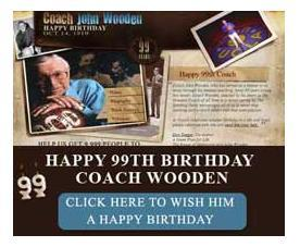 Happy Birthday Coach Wooden