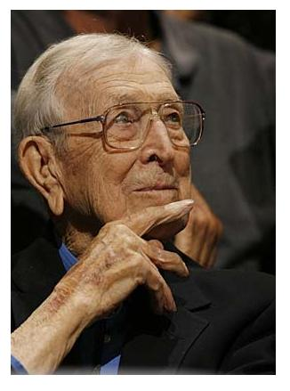 John Wooden with a Twinkle in His Eye