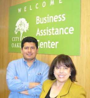 Image of Roberto Costa and Susana Villarreal, BAC staff members