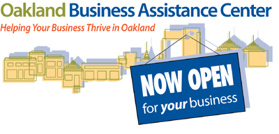 Logo for the Oakland Business Assistance Center