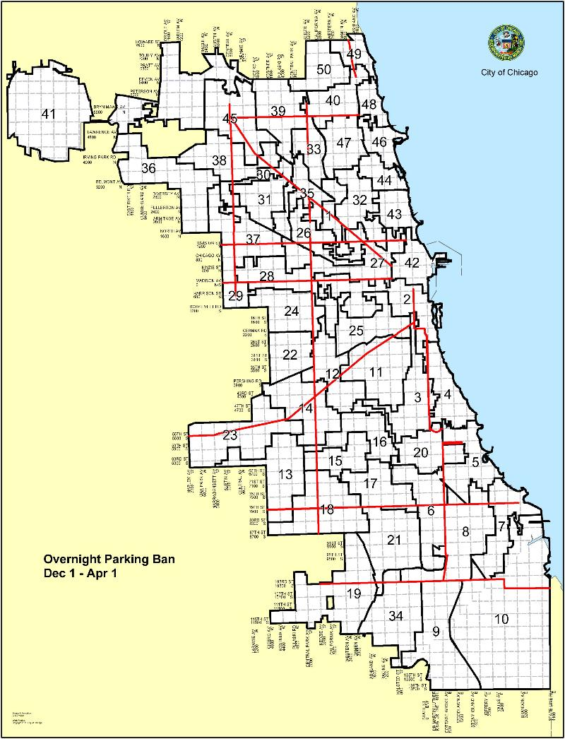 LakeShoreDriveAnnouncements - Chicago alderman map