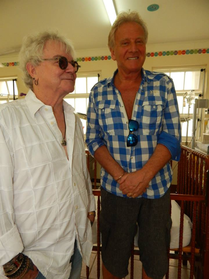 Russell Hitchcock and Graham Russell