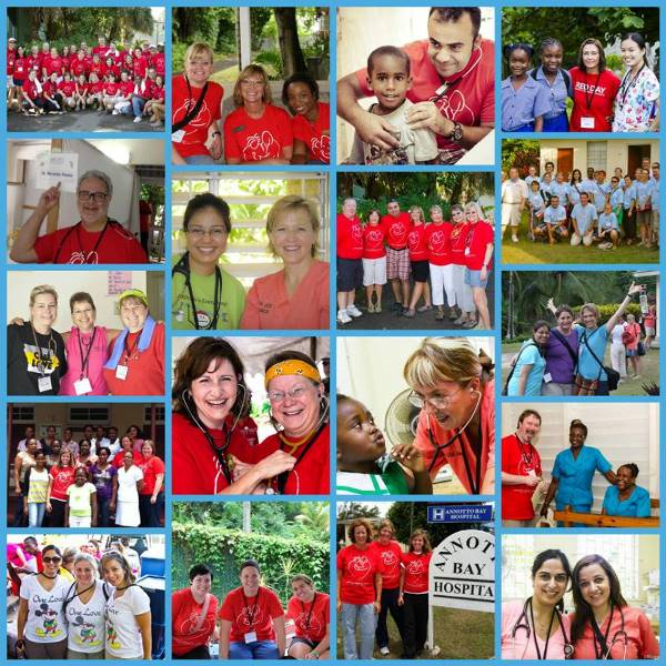 Volunteers and partners