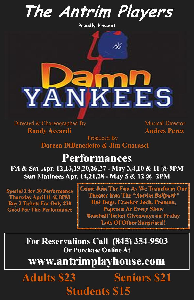 Poster Damn Yankees