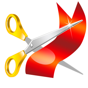 ribbon cutting 1