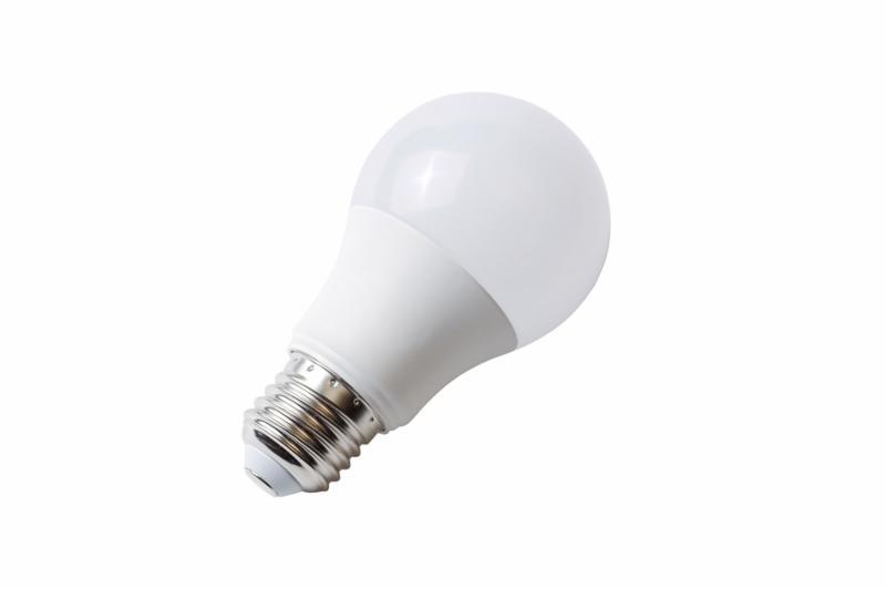 Energy efficiency LED light bulb isolated on white
