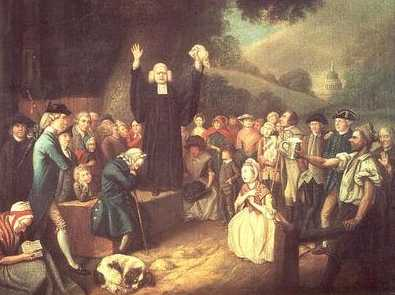 How did the second great awakening
