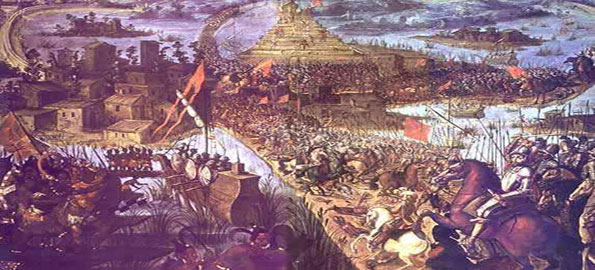 Cort S And The Conquest Of The Aztec Mexican Empire