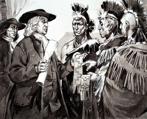 relationship between native americans and european settlers