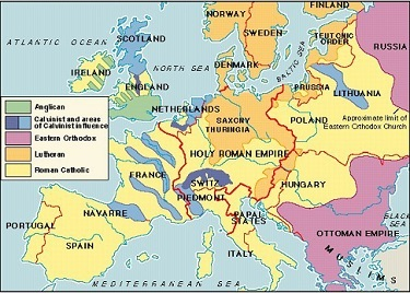 an overview of the politics between the 16th and 17th century in europe Summary of  1500-1618, protestant-catholic conflict grows, between and within  nations  battle austria (aided by spain) for political/religious autonomy   countries (now belgium) would not achieve independence until the nineteenth  century  16 - moravia, encarta 2004 17 - switzerland, encyclopedia  britannica.