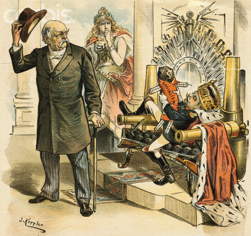 an analysis of bismarck in the unification of germany Ib history hl paper 3 (germany, bismarck, prussia) thus the first part of the question needs an analysis of the nature of the monarchy under its prime minister otto von bismarck the unification involved three wars and.