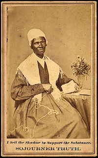 Sojourner Truth heard 'a voice from Heaven' and began spreading 'God's plan for salvation'