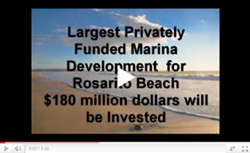 Largest Privately Funded Marina  Development Planned for Rosarito Beach