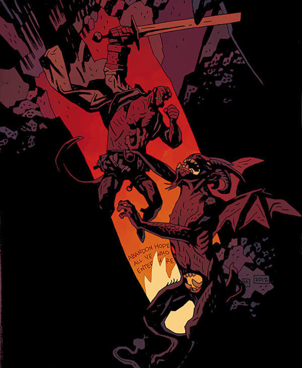 Mignola Hellboy in Hell
