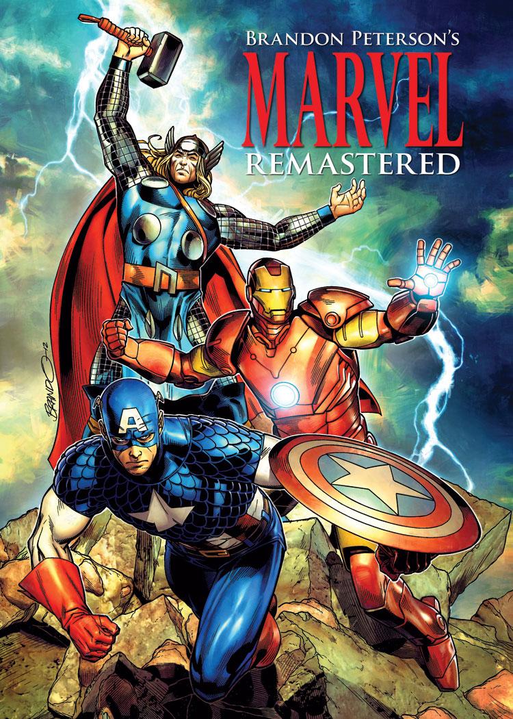 Brando Marvel Remastered Cover