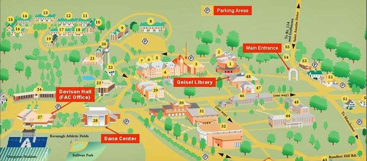 St Anselm Campus Map.Fwd Franco American Centre Manchester French Classes Seacoast