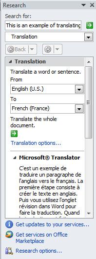 The Translation Window