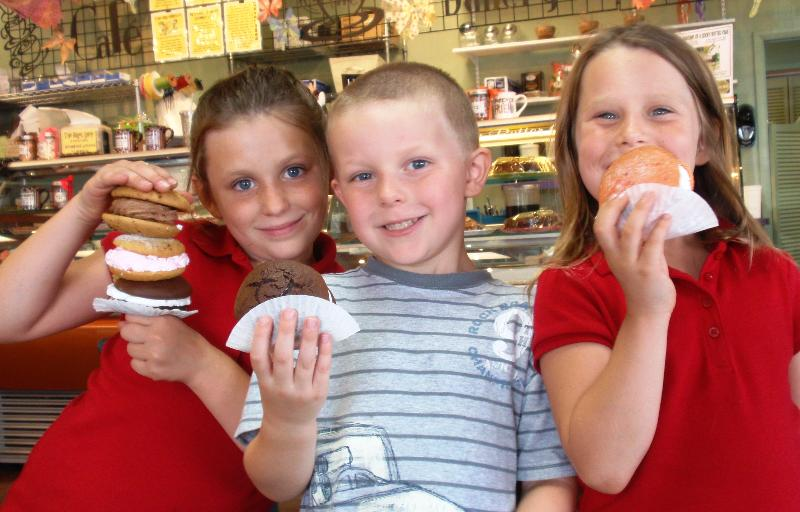 Three Grands with Whoopies