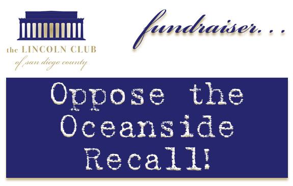 Fundraiser. . . Oppose the Oceanside Recall!