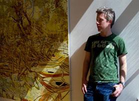 Artist Matthew Ritchie