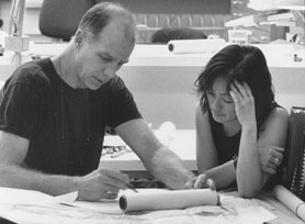 Architects Tod Williams and Billie Tsien