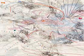 Julie Mehretu, Immanence, 2004